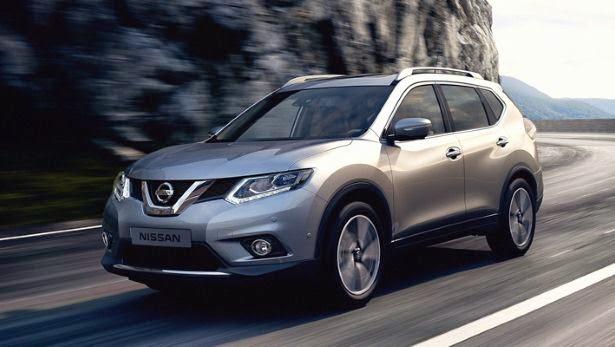 Nueva SUV Nissan X-Trail 2015