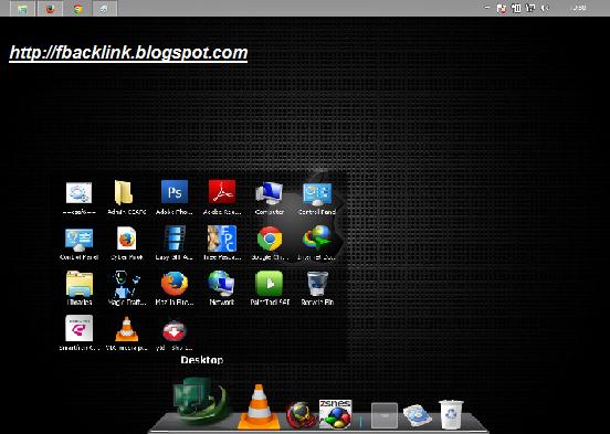 Membuat tampilan Windows 7 dan 8 menjadi Mac Os dengan RocketDock