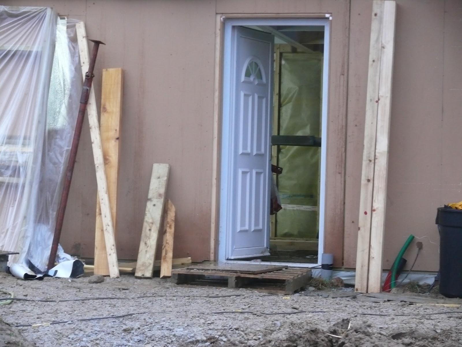 Maison structure bois isolation paille pose fen tres et for Isolation fenetre bois