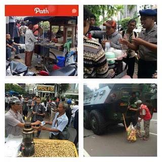 Efek Akibat Ledakan BOM Sarinah, Thamrin Muncul Hastag  #kaminaksir #KamiTidakTakut #JakartaAman #PolisiGanteng  #terorisgagaltotal