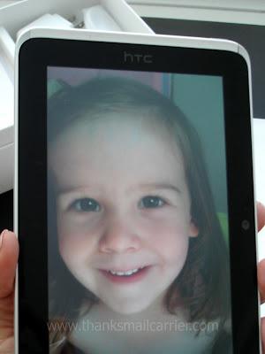 HTC Flyer camera