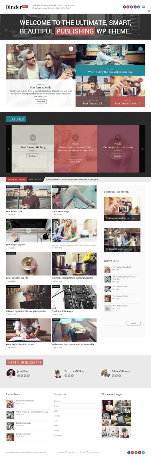 Multipurpose WordPress Theme