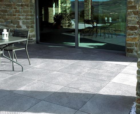 Pavimentos y revestimientos en gres porcel nico ideas - Gres para exteriores ...