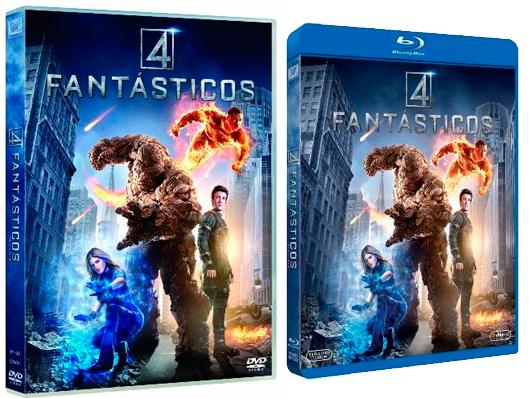 A la venta 'Cuatro fantásticos' en DVD, Blu-ray y edición metálica