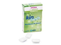 Chicles Kin Fresh, eliminan el mal aliento