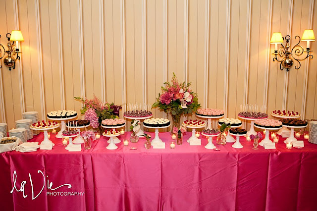 Minnetonka Wedding Dessert Table
