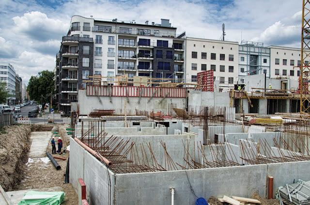 Baustelle Wohnhäuser, WELLDONE, Flott Well Living, Flottwellstraße, 10785 Berlin, 04.06.2014