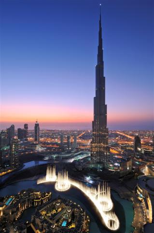 Passion for luxury armani hotel in dubai burj khalifa tower for Burj al khalifa hotel