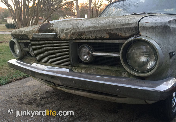 Old Plymouth Headlight : Junkyard life classic cars muscle barn finds hot
