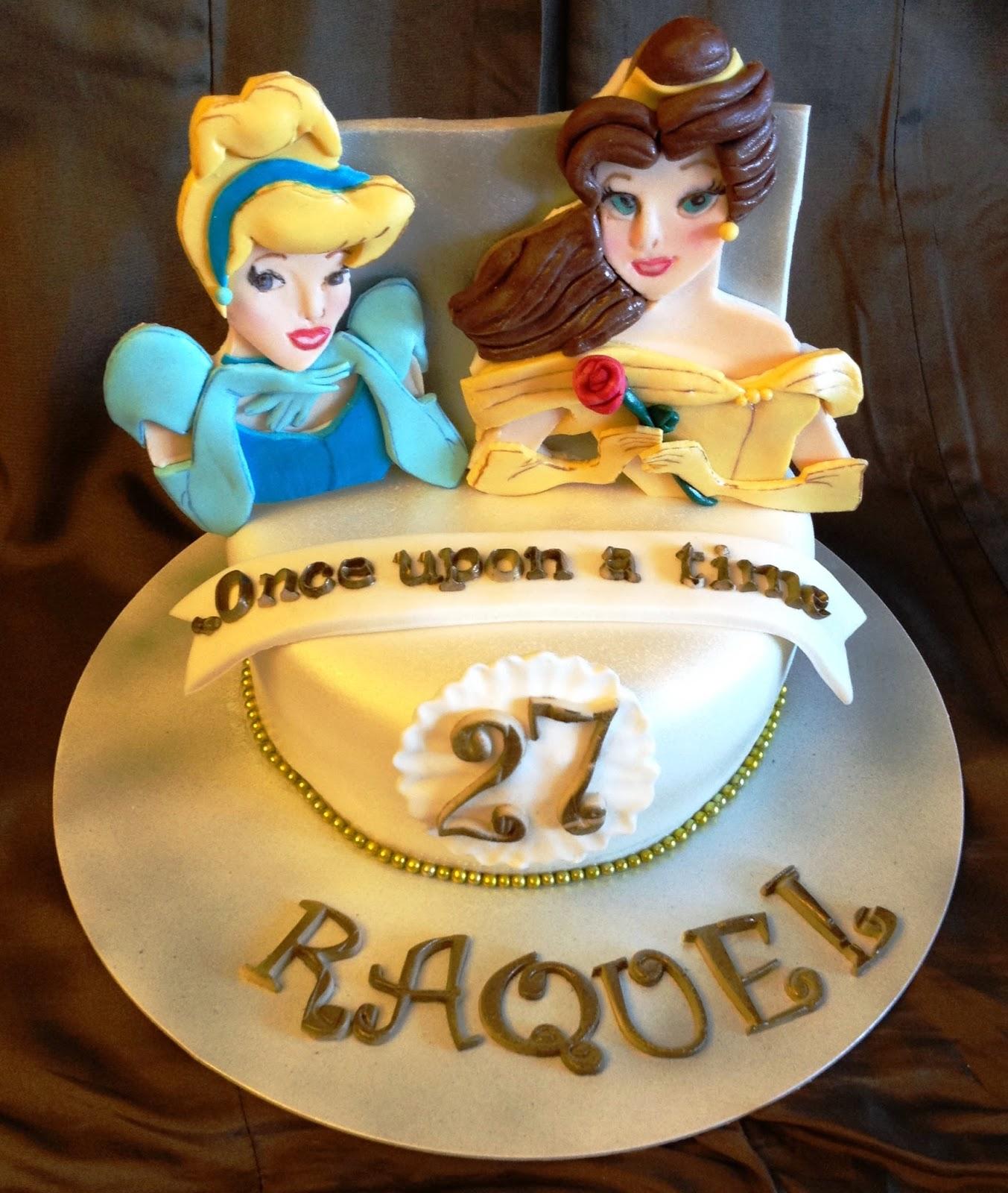 tarta princesas disney; princesas disney; disney; fondant; tarta fondant