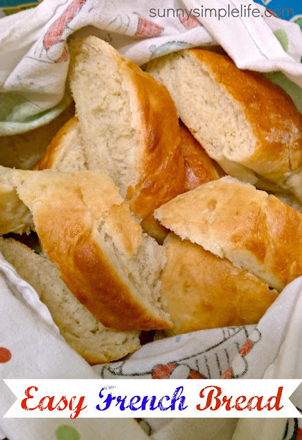 bread recipe, French bread, easy bread baking