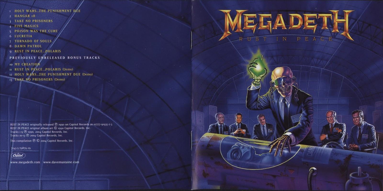 Megadeth Rust In Peace Cd MetalExpressionPhantom...