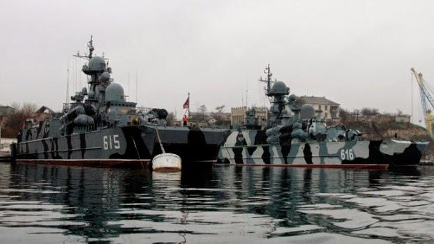 Angkatan Laut Krimea Kembali Menjadi Bagian Armada Laut Hitam Rusia