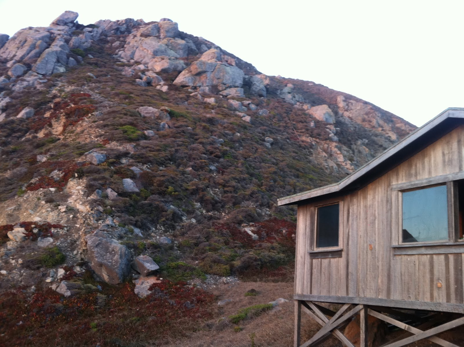 Deep thoughts by tom ferguson steep ravine cabins mill for Mill valley cabins