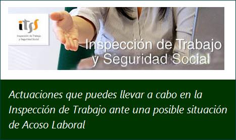 MobbingMadrid Actuaciones que puedes llevar a cabo en la Inspección de Trabajo ante una posible situación de acoso laboral o mobbing