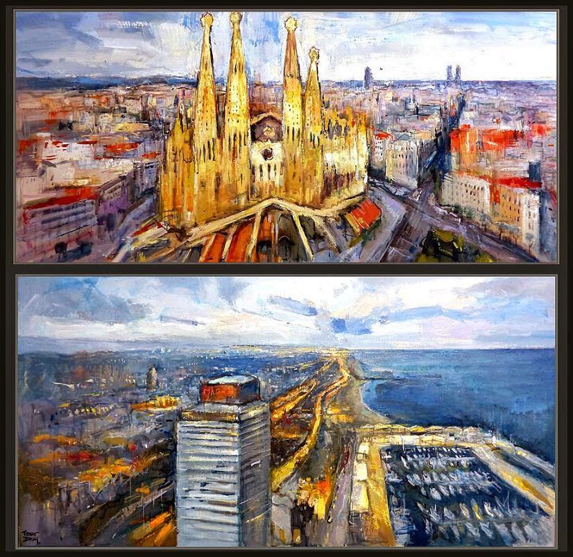 Cuadros ernest descals pinturas - Trabajo de pintor en barcelona ...
