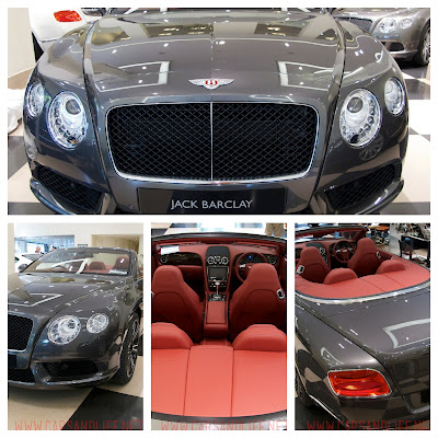 Bentley Continental GTC V8 for Summer 2013