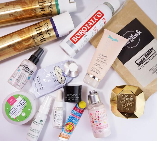 Aufgebrauchte Kosmetik - Januar 2016 (Körper)