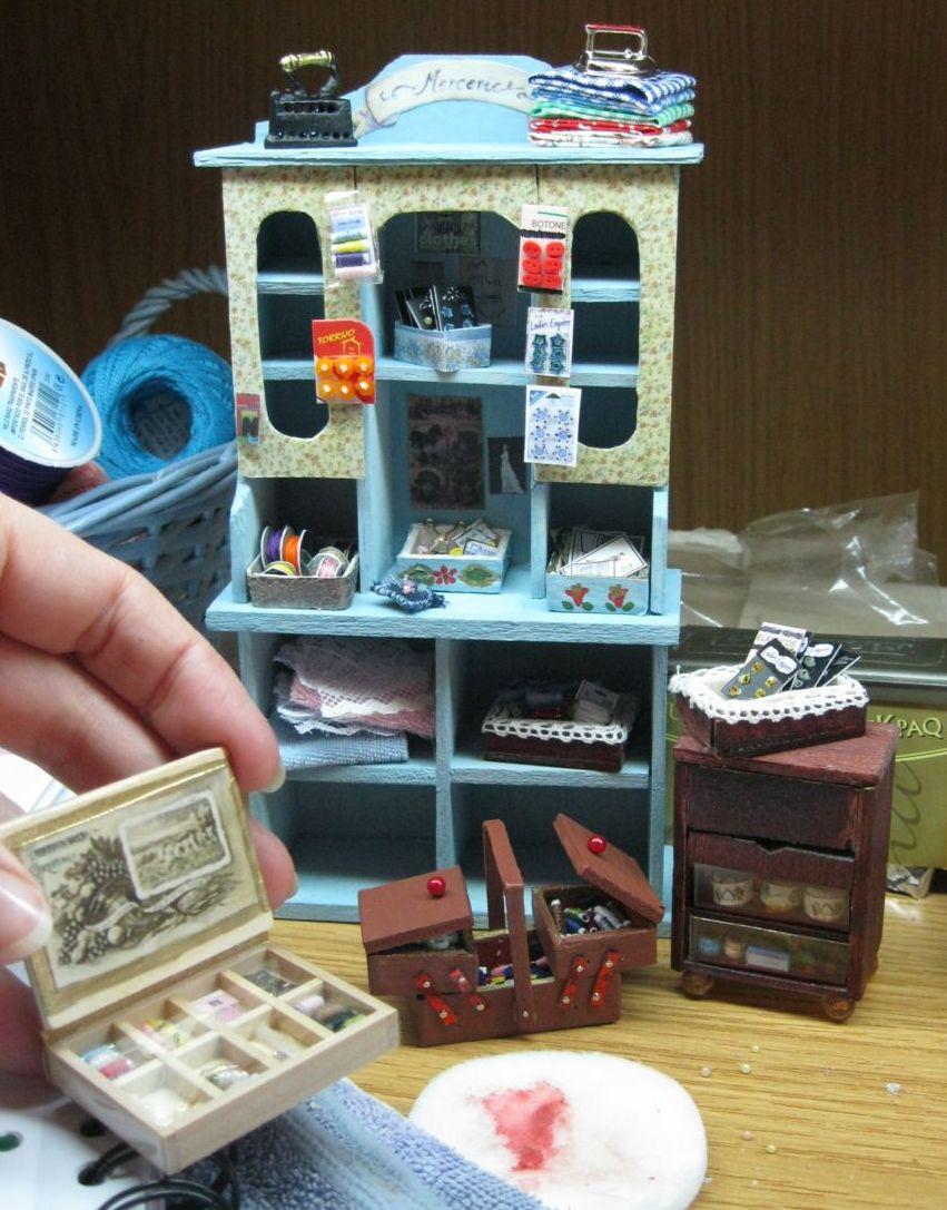 Miniaturas de mila mueble de costura - Mueble de costura ...