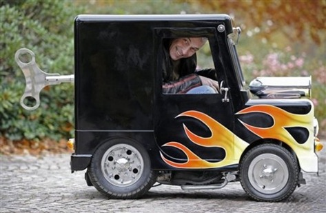 World S Smallest Legal Car By Perry Watkins
