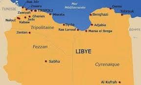 Libia, Tripolitania, Cirenaica e Fezzan