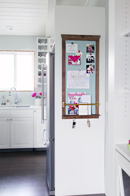 IHeart Organizing: DIY Magnetic Memo Board