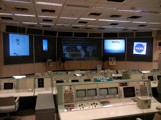 The Houston Space Center Control Room