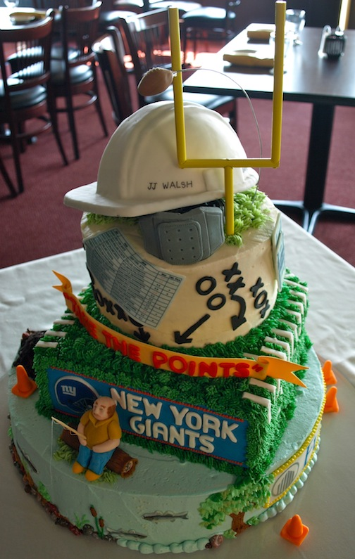 Cake Decoration Ideas Retirement : a. party style: retirement cake