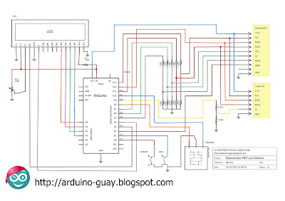 Arduino MP3 Player Schema