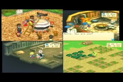 PS1 Harvest Moon 2 Girl