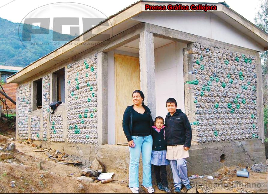 Prensa gr fica callejera olmu jeanette y la soluci n - Construir una casa ecologica ...