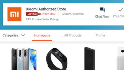 ร้านค้าอย่างเป็นทางการ Xiaomi Thailand