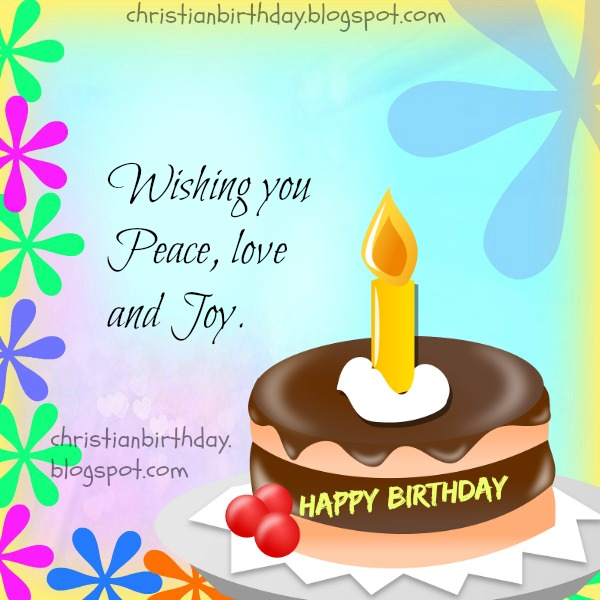 Happy birthday christian cards gangcraft wishing you peace love and joy happy birthday christian birthday card m4hsunfo