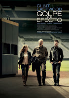 Cartel de la película 'Golpe de efecto', de Robert Lorenz, con Clint Eastwood, Justin Timberlake, John Goodman y Amy Adams. Making Of. Cine