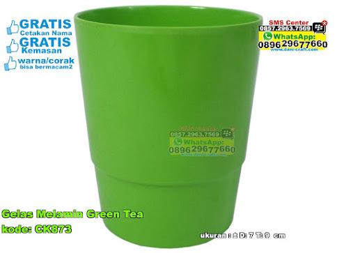 Gelas Melamin Green Tea