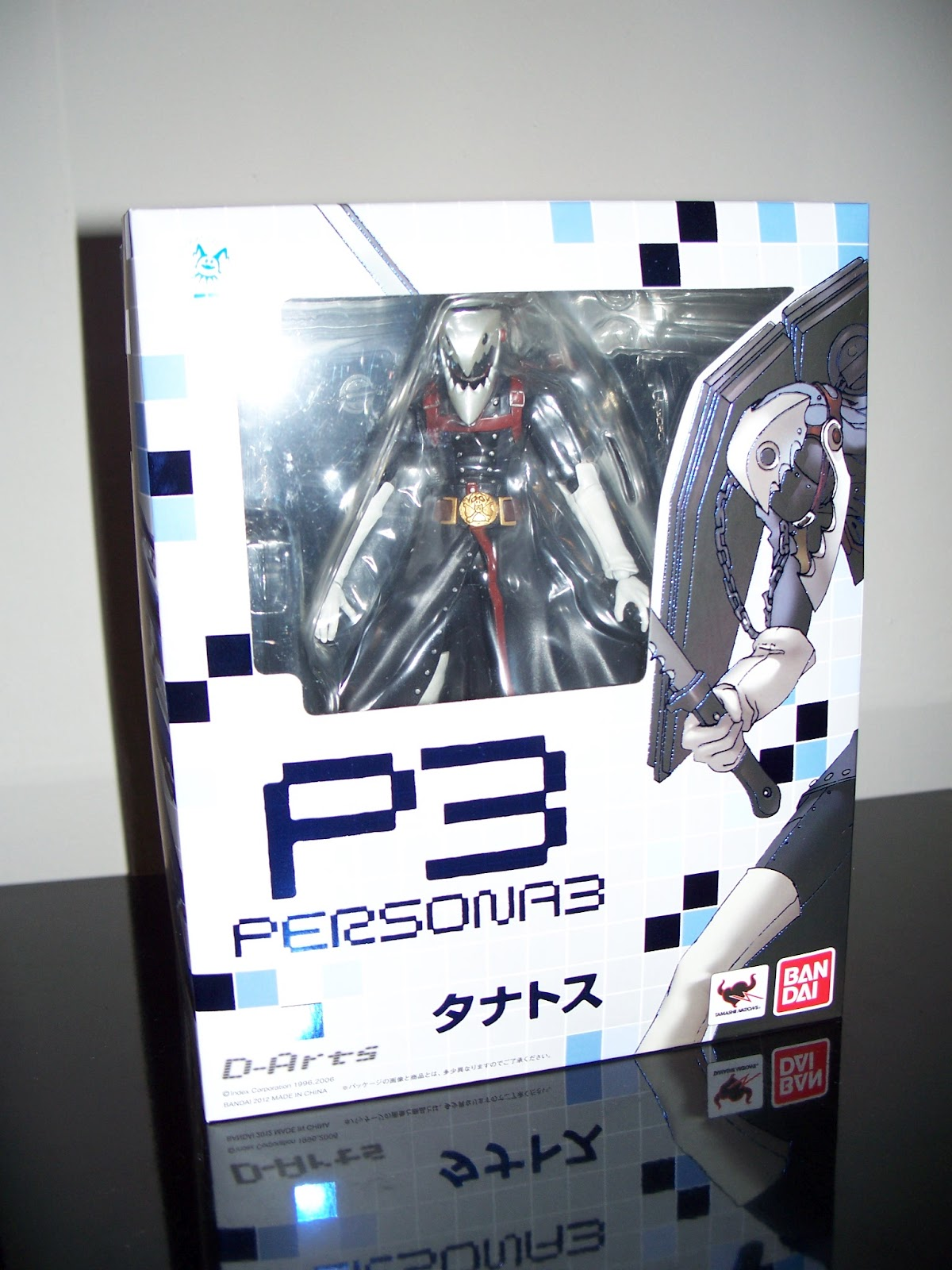 Arts figure of mine  Here is the fantastic Persona 3 ThanatosPersona 3 Thanatos Figure