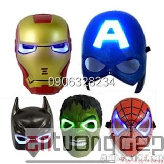bán mặt nạ biệt đội siêu anh hùng