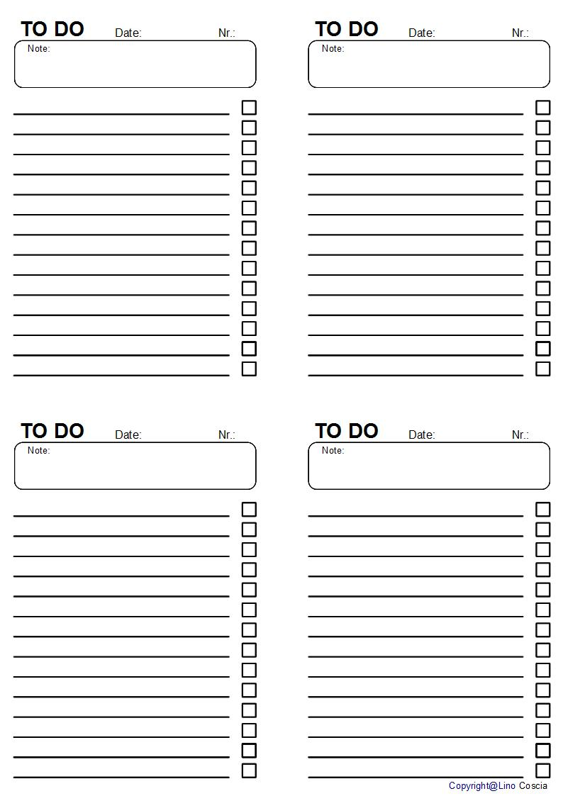 work to do list template .