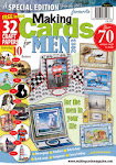 CURRENTLY PUBLISHED AND HAVE MY WORK FEATURED ON THE COVER OF MAKING CARDS FOR MEN: