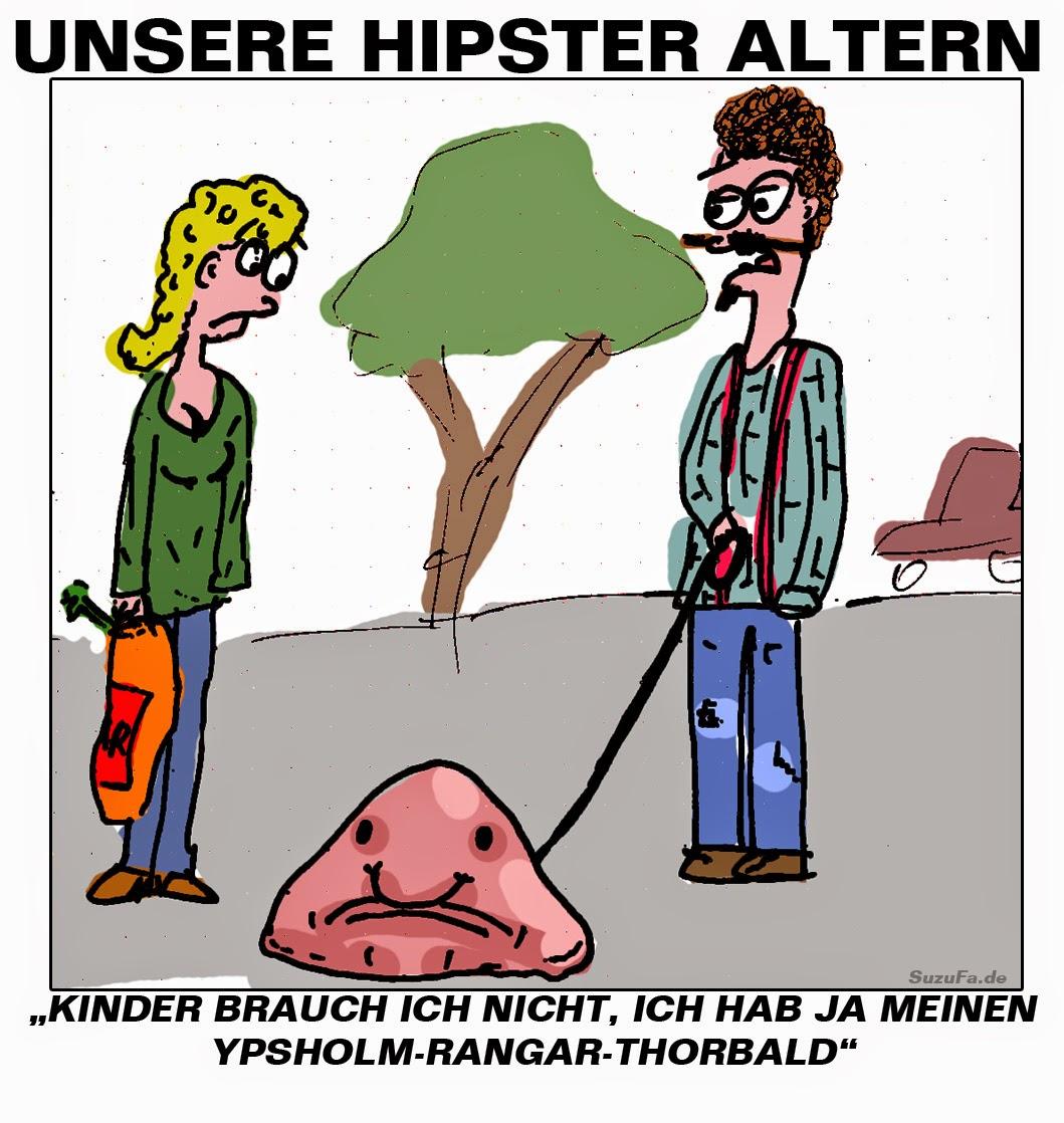Unsere Hipster altern