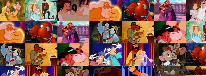 Disney Cartoon Family