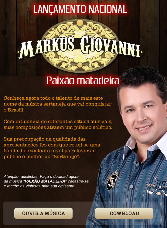 MARKUS  GIOVANNE