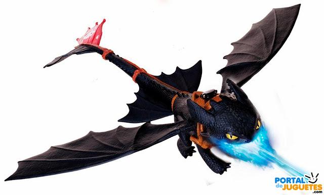 lanzallamas desdentado dragones berk como entrenar a tu dragon 2