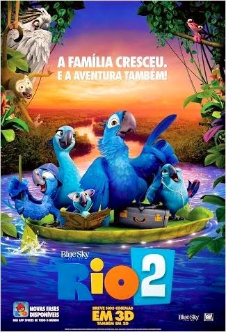 Download Rio 2 DVDRip Dublado + Torrent