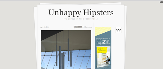 Unhappy hipsters