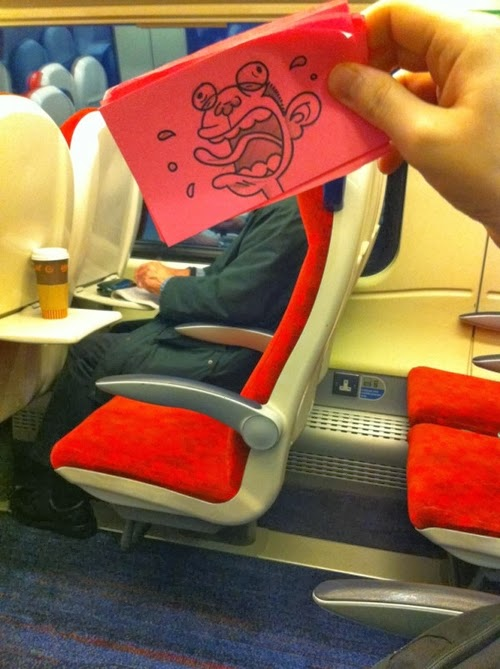 14-Monkey-October-Jones-Bored-on-the-Train-Designs-www-designstack-co