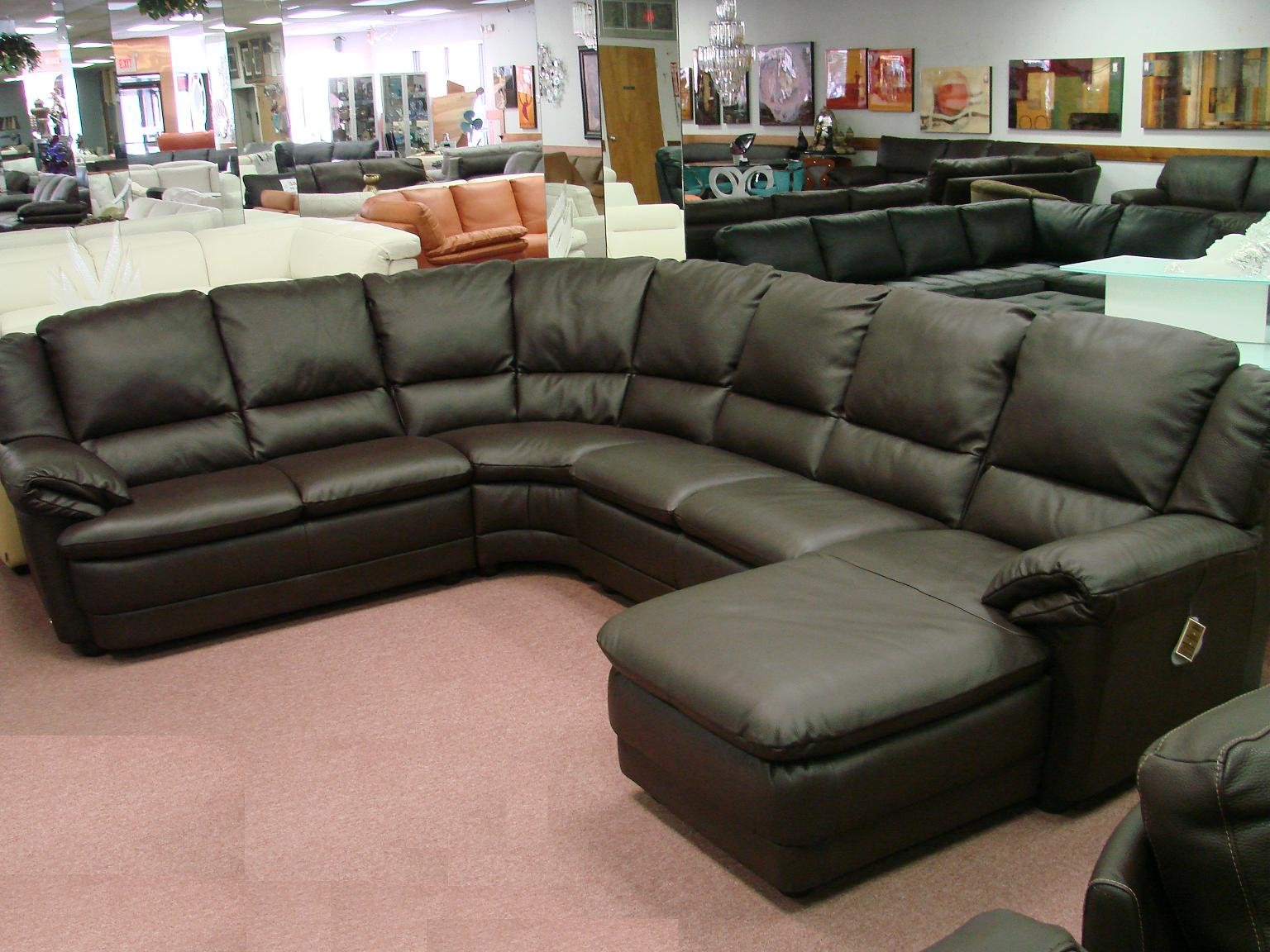 Natuzzi leather sofas sectionals by interior concepts for Sectionals for sale