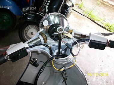 UBAH SUAI LAMPU PX150 KE 200