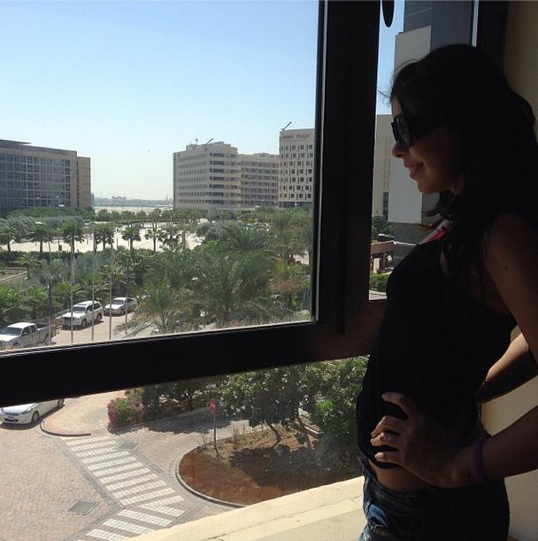 In Abu Dhabi For Rihanna