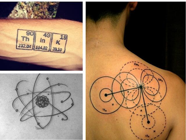 tattoo ciência